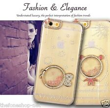 Rhinestone Diamond Fish Design Hard shell Back cover case for Apple iPhone 6 6S