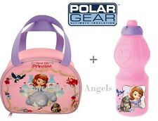 Sofia The First Insulated Lunch/Dinner School Bag/Box Cool Hot Drink & Food