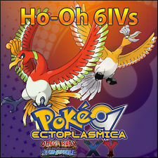 Ho-Oh 6IV ⭐️ Shiny or not ⭐️ Battle Ready 6IVs Pokemon XY ORAS Sun Moon SM