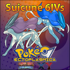 Suicune 6IV ⭐️ Shiny or not ⭐️ Battle Ready 6IVs Pokemon XY ORAS SM Sun Moon