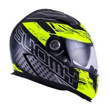 Casco integrale Halo Drift yellow Suomy