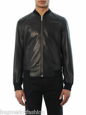Genuine  Leather jacket Black Elastice Closer Jacket In all Size