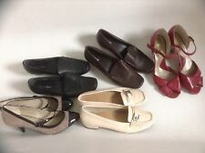 Ladies Size 6 M + S Shoes Footglove Moccasins + 2 Pairs High Heels