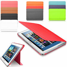 "Leather Folding Tablet Stand Smart Case Cover For Samsung Galaxy Tab E 8"", 9.6"""
