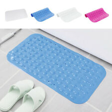 Large Foot Massage Anti Rubber Non Slip Bathroom Bath Shower Mat Strong Suction
