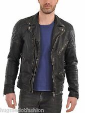 BlackColor Genuine Leather Jacket For Mens In Hollywwod Style