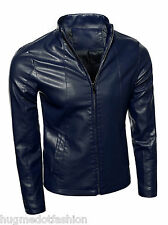 Simple Genuine Leather Jacket In Prices Collar in Hollywood
