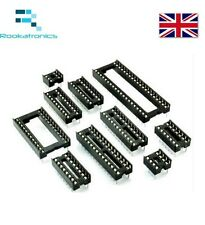 DIL / DIP SIP IC Sockets Adaptor Solder Type 6 8 14 16 18 20 24 28 32 40 Pin