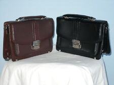 A Hand Shoulder Clutch Purse Organiser Travel Hand Bag In Black/Brown,