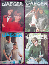Jaeger Womens Knitting Patterns Sweaters Jackets -Choose from Drop-down Menu