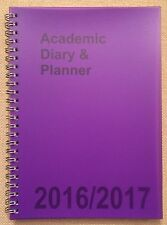 2016-2017 A5 Student Academic Diary Week To View Planner Oragniser Teacher Diary