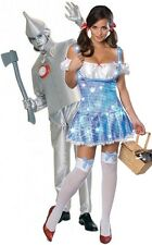 Couples Mens AND Ladies Tinman Dorothy Wizard Of Oz Fancy Dress Costumes Outfits