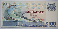 Rare Vintage $100 SINGAPORE A1 Bird Series Old Bank Notes Still Legal Tender