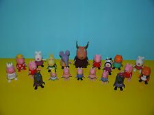 Peppa Pig Figures ~ Peppa,George,Suzzy,Candy,Zoe,Danny,Emily,Gazelle ~ NEW