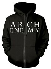 Arch Enemy 'Logo And Symbol' Zip Up Hoodie - NEW & OFFICIAL!