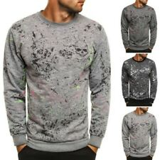 ozonee madmext 1677 homme sweat pull Maillot manches longues pull impression