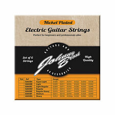 Johnny Brook Nickel Plated Steel Electric Guitar Strings