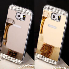 Mirror Crystal b25  Bling Silicone Soft Gel Case Back Cover Fits Samsung Galaxy