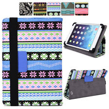 Universal 7 inch Tablet Slim Tribal Canvas Sleeve Folio Case Cover 08PS4