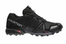 SALOMON SPEEDCROSS 4 - 383130 - SCARPA TRAIL RUNNING / OUTDOOR - BLACK