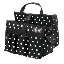 Wahl Tool Carry Hairdressing Equipment Bag - Polka Dot Black/Red Limited Ed 2016