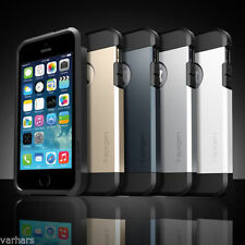 Spigen Protective Tough Armor Back Case Cover for Apple iphone 4, 5, 6 FREE SG