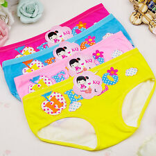 4 Pcs Baby Kids Girls Briefs Childs Boxer Shorts Underwear Letter Print Panties