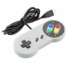 XKMJT Wired USB Controller Gamepad Joystick for PC Laptop White