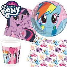 Magic My Little Pony Party Tableware Supplies Girls Birthday Plates Cups Napkins