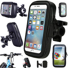 New 360 Degree Bicycle Bike Waterproof Case Mount Holder Cover For Mobile Phones