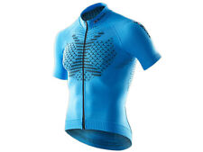 X-BIONIC®: TWYCE Biking Shirt Short Sleeves Full Zip French Blue/Black