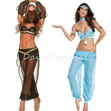 Sexy Hot Belly Dancer Bra Top Adult Women Dance Outfit Halloween Costume OS USA