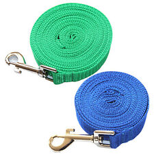 3-20M PETS LONG CLIP TRAINING LEASH ROPE LEADS BELT DOGS SAFETY HARNESS WONDROUS