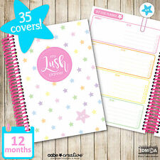 My Lush Planner (12 months), weekly, diary, organiser, organizer, planners