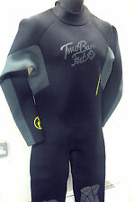 TWO BARE FEET SIGNATURE 2.5mm FULL LENGTH WETSUIT SIZE 4XL/ XXXXL - CHEST 50""