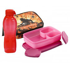 Signoraware Rock DJ Compact Lunch with Printed Bag (p11515) & 500ml Water bottle