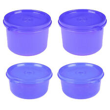 Signoraware Set of #4 - Smart Executive Round Containers (2x450ml + 2x310ml)
