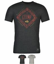 ORIGINALE Under Armour Charged Cotton Champion Triblend T Shirt Mens Grey/Navy