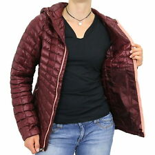 The North Face Thermoball Hoodie Jacke Winterjacke Kapuzen Damen Rot CUC5HBM