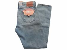 Levis 501 Men's Original fit, customized & tapered, distressed Jeans - W 34 L 34