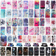 For Apple iPhone 7 / 7 Plus PU Leather Flower Strap Wallet Flip Case Cover Stand