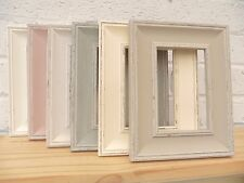 Photo Frame/Picture Frame/Shabby Chic/Vintage/Distressed/Antique/6 Colour/3 Size