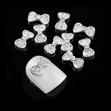 10pcs 3D Nail Stickers Imitation Diamond Alloy Nail Decals Decoration