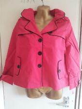 BNWT LIPSY removable hood lightweight lined crop jacket size 8 £60