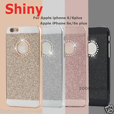 Diamond Bling Glitter Hard Plastic Back Case Cover for Apple iPhone 5, 6, 6 Plus