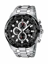 Casio EF-539D-1AVEF Mens Edifice Black Silver Watch