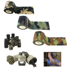 5m Camouflage Hunting Photography Self Sticker Tape Roll Stealth Wrap Cover