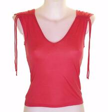 Bnwt Authentic Women's French Connection Strappy Top Pink New Fcuk