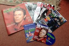 DAVID BOWIE SUNDAY TIMES CULTURE MAGAZINE 2003 + DVD ROM SOUND & VISION - SEALED