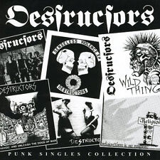 DESTRUCTORS - Punk Singles Collection CAPTAIN Oi! CD punk oi!